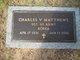 "Profile photo:  Charles V. ""Charlie"" Matthews"