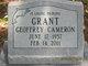 Geoffrey Cameron Grant