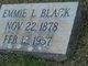 """Emma L. """"Emmie"""" Black"""