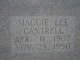Maggie Lee <I>Lawler</I> Cantrell