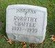 Dorothy <I>Mills</I> Chaffee