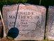 """Donald B """"Butch"""" Matthews, Jr"""