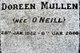 Doreen <I>O'Neill</I> Mullen