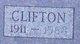Profile photo:  Clifton Allmon