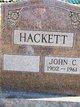 John C Hackett