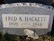 Frederick K. Hackett