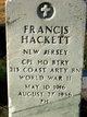 Francis Hackett