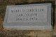 Mabel R. <I>Davis</I> Strickler