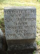 Profile photo:  Harriet H. <I>Munson</I> Aldrich