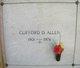 Clifford Donald Allen