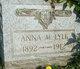 Anna Mary Lyle