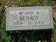 Wyman Black Kenagy