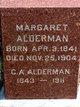 Margaret A <I>Highsmith</I> Alderman