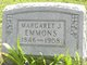 Margaret J. <I>Shields</I> Emmons
