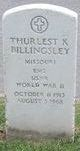 Thurlest K Billingsley
