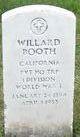 Willard Booth