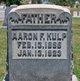 Profile photo:  Aaron F Kulp