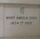 "Mary Amelia ""Emily"" <I>Diemer</I> Zenz"