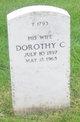 """Dorothy Claire """"Dot"""" <I>Good</I> Arbeely"""