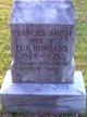 Frances <I>Smith</I> Burgess