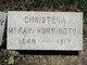 Christena <I>McKay</I> Huntington