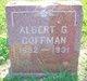 Profile photo:  Albert Greene Coffman
