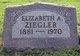 Elizabeth A Ziegler