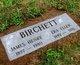 Profile photo:  James Henry Birchett