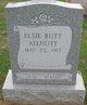 Profile photo:  Elsie Virginia <I>Alfred</I> Allnutt