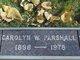 Carolyn W. Parshall