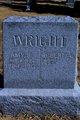 Amy Sarah <I>Kistler</I> Wright