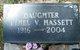 Ethel Vernice <I>Zumwalt</I> Hassett