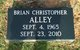 "Profile photo:  Brian Christopher ""Chris"" Alley"