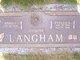 Evelyn Blanche <I>Walker</I> Langham