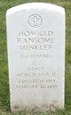 Sgt Howard Ransome Minkler