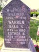Esther Wallace <I>Bicknell</I> Warren