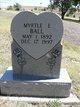 Myrtle E. Ball