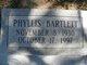 Phyllis Bartlett