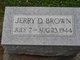 Jerry D. Brown