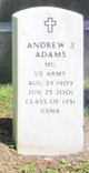 MG Andrew Joseph Adams