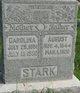 Carolina Charlotta <I>Brockmann</I> Stark
