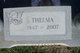 Thelma <I>Trent</I> Sandige