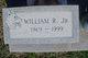 """William R """"Billy"""" Sandige, Jr"""