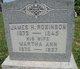Martha Ann <I>Long</I> Robinson