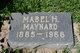 Mabel Ella <I>Haskins</I> Maynard