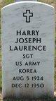 Profile photo: Sgt Harry Joseph Laurence