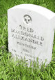 Fred MacDonald Alexander