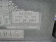 Vaudie Vinnessie <I>Mattox</I> Parris