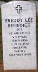Freddy Lee Benedict Sr.