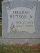 Profile photo:  Albert Freeman Hutson, Jr